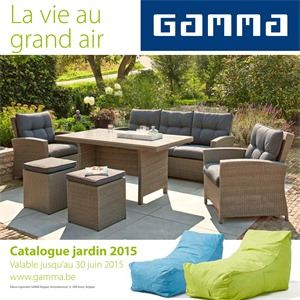 Folder gamma catalogue jardin 2015 for Catalogue jardin gamma 2015