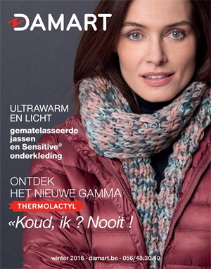 Damart folder van 01/10/2016 tot 21/03/2017 - Winter 2016
