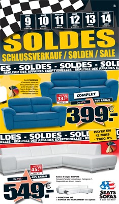 Folder Seats and Sofas du 09/01/2017 au 14/01/2017 - Solden