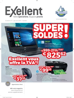 Folder Exellent du 02/01/2017 au 31/01/2017 - Exellent IT super Soldes