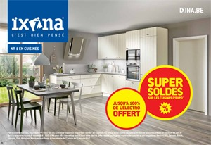 Folder Ixina du 03/01/2017 au 31/01/2017 - Super Soldes