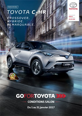 Folder Toyota du 01/01/2017 au 31/01/2017 - CONDITIONS SALON