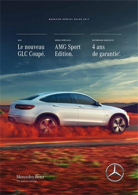 Folder Mercedes Benz du 16/01/2017 au 31/01/2017 - Conditions du salon