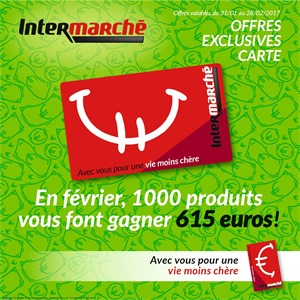 Folder Intermarché du 31/01/2017 au 28/02/2017 - Offres exclusive carte