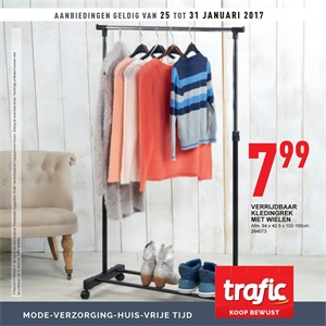 Trafic folder van 25/01/2017 tot 31/01/2017 - Weekaanbiedingen