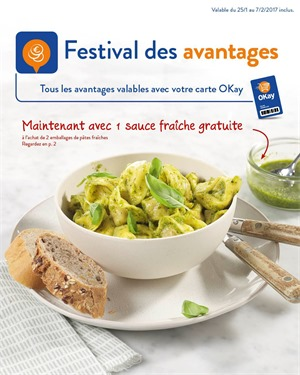 Folder Okay du 25/01/2017 au 07/02/2017 - Festival des advantages