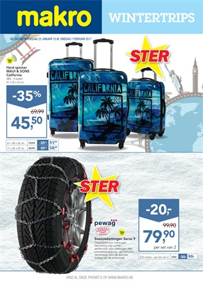 Makro folder van 25/01/2017 tot 07/02/2017 - Wintertoppers