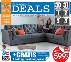 Seats and Sofas folder van 30/01/2017 tot 04/02/2017 - Weekaanbiedingen