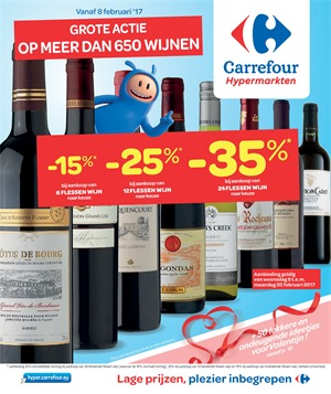 Carrefour folder van 08/02/2017 tot 20/02/2017 - Weekaanbiedingen