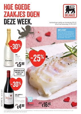 Delhaize folder van 09/02/2017 tot 15/02/2017 - Weekaanbiedingen
