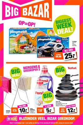 Big Bazar folder van 14/02/2017 tot 20/02/2017 - Big Deals