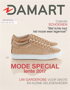 Damart folder van 01/03/2017 tot 15/06/2017 - MODE special lente 2017