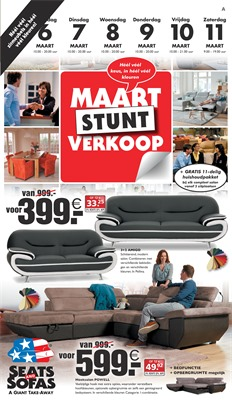 Seats and Sofas folder van 06/03/2017 tot 11/03/2017 - Weekaanbiedingen
