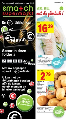 Smatch folder van 08/03/2017 tot 14/03/2017 - Weekaanbiedingen