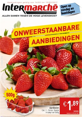 Intermarché folder van 14/03/2017 tot 19/03/2017 - Weekaanbiedingen