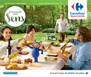 Folder Carrefour du 15/03/2017 au 03/04/2017 - CATALOGUE PRINTEMPS