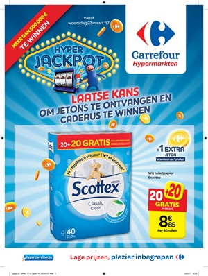 Carrefour folder van 22/03/2017 tot 27/03/2017 - Weekaanbiedingen