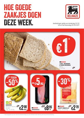 Delhaize folder van 23/03/2017 tot 29/03/2017 - Weekaanbiedingen