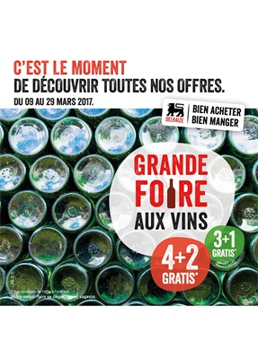 Folder Delhaize du 09/03/2017 au 29/03/2017 - Folder Vin