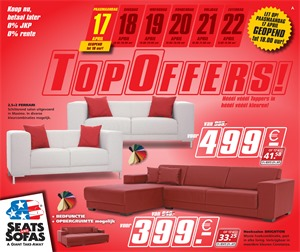Seats and Sofas folder van 17/04/2017 tot 22/04/2017 - Topoffers