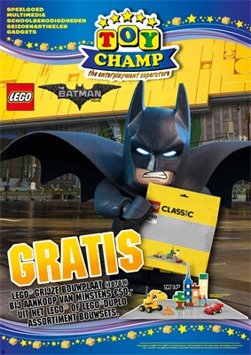 Toychamp folder van 25/03/2017 tot 16/04/2017 - Lego folder