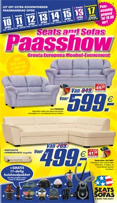 Seats and Sofas folder van 10/04/2017 tot 17/04/2017 - Paasshow