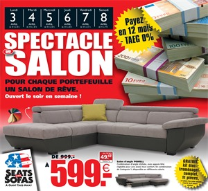 Folder Seats and Sofas du 03/04/2017 au 08/04/2017 - Spectacle du salon
