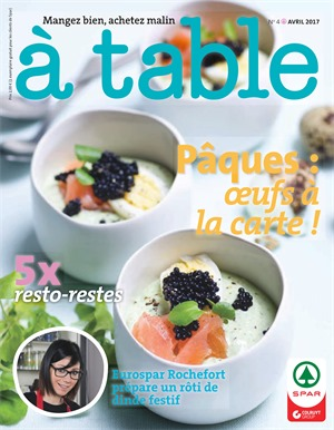 Folder Spar du 01/04/2017 au 30/04/2017 - A table avril 2017