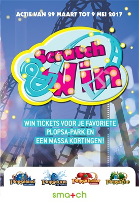 Smatch folder van 29/03/2017 tot 09/05/2017 - Scratch & Win