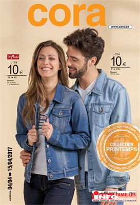 Folder Cora du 04/04/2017 au 15/04/2017 - Collection printemps