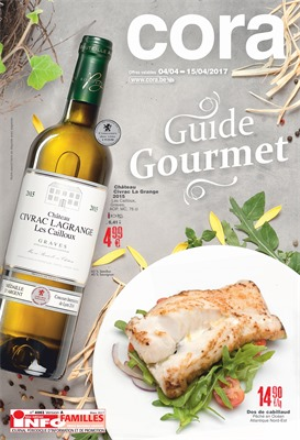 Folder Cora du 04/04/2017 au 15/04/2017 - Guide Gourmet