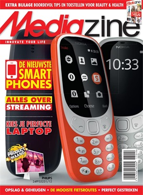 MediaMarkt folder van 01/04/2017 tot 30/04/2017 - Mediazine april 2017