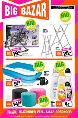 Big Bazar folder van 03/04/2017 tot 09/04/2017 - Big Deals