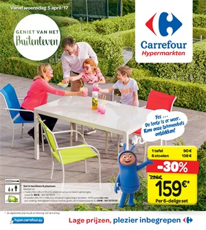 Carrefour folder van 05/04/2017 tot 17/04/2017 - Weekaanbiedingen