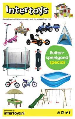 Intertoys folder van 03/04/2017 tot 25/06/2017 - Buitenspeelgoed special
