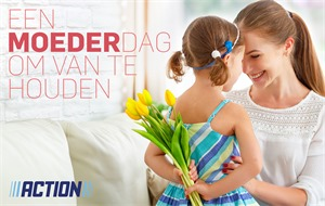 Action folder van 17/04/2017 tot 14/05/2017 - Moederdag folder