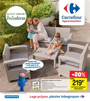 Carrefour folder van 19/04/2017 tot 01/05/2017 - Weekaanbiedingen
