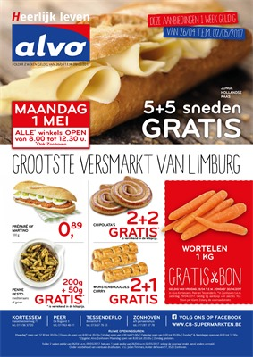 C&B Alvo folder van 26/04/2017 tot 09/05/2017 - Weekaanbiedingen