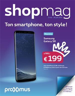 Folder Proximus du 02/05/2017 au 30/06/2017 - Shopmag
