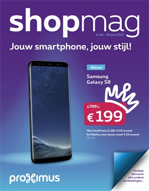Proximus folder van 02/05/2017 tot 30/06/2017 - Shopmag
