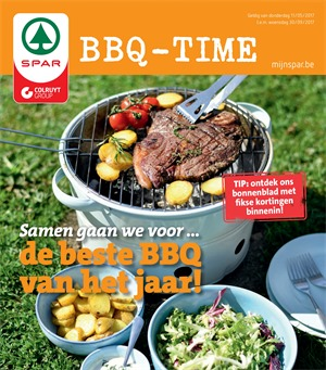 Spar folder van 11/05/2017 tot 30/09/2017 - BBQ-time