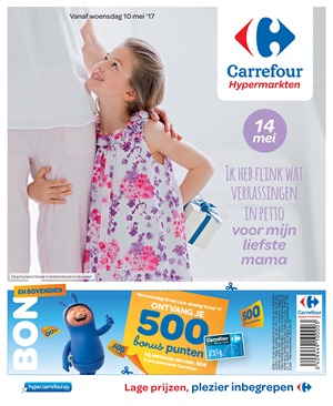 Carrefour folder van 10/05/2017 tot 15/05/2017 - Weekaanbiedingen