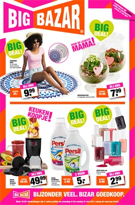 Big Bazar folder van 08/05/2017 tot 21/05/2017 - Big Deals
