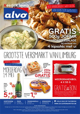 C&B Alvo folder van 10/05/2017 tot 16/05/2017 - Weekaanbiedingen