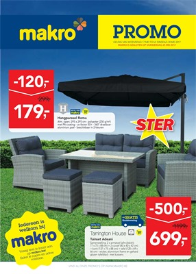 Makro folder van 17/05/2017 tot 30/05/2017 - Promo non food