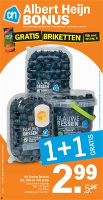 Albert Heijn folder van 22/05/2017 tot 28/05/2017 - Weekaanbiedingen