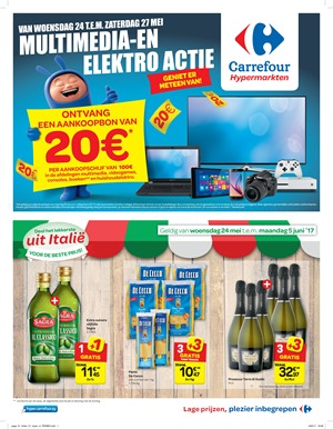 Carrefour folder van 24/05/2017 tot 05/06/2017 - Weekaanbiedingen