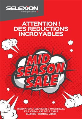 Folder Selexion du 22/05/2017 au 04/06/2017 - Mid season sale