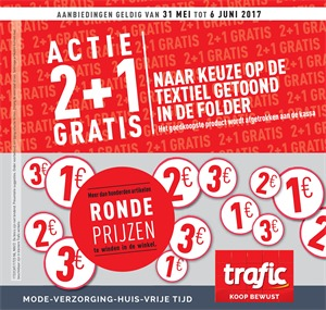 Trafic folder van 31/05/2017 tot 06/06/2017 - Weekaanbiedingen