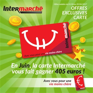 Folder Intermarché du 01/06/2017 au 30/06/2017 - Offres exclusive carte